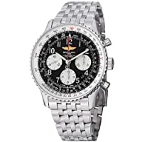 Breitling Men's AB012012/BB02SS Black Dial Navitimer 01 Watch by BRIT ARCH OF COUNTRY