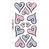 Sticko Vellum Stickers-Hearts Of Love
