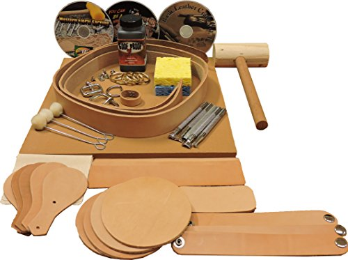 Springfield Leather Company Belt & Project Starter Set (Leather Tooling Kit compare prices)