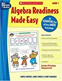 img - for Algebra Readiness Made Easy: Grade 1: An Essential Part of Every Math Curriculum (Best Practices in Action) book / textbook / text book