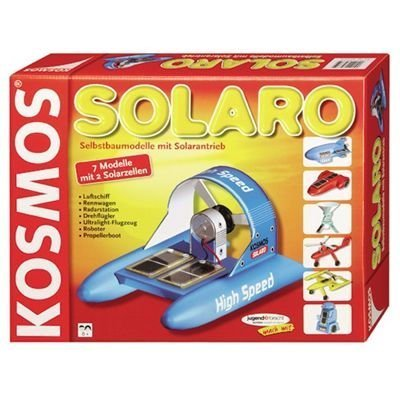 Solaro Solar-Powered Models Building And Learning Kit