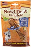 Nylabone Nutri Dent Complete Small Filet Mignon Flavored Dog Treat Bone