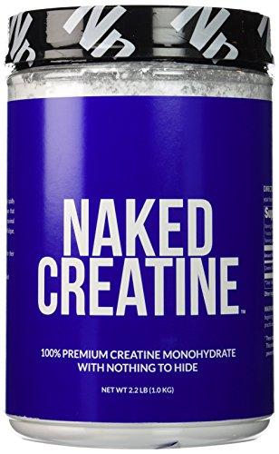 NAKED CREATINE - 100% Creatine Monohydrate - 200 Servings - 2.2lbs (1kg)