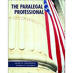 VangoNotes for The Paralegal Professional, 2/e | [Henry Cheeseman, Thomas F. Goldman]