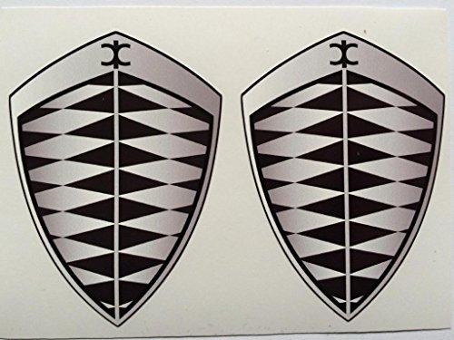 2-koenigsegg-gray-grey-badge-die-cut-decals