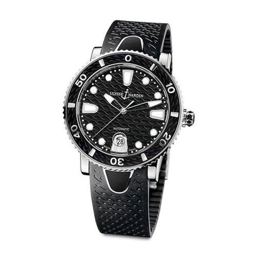 Ulysse Nardin Women's 8103-101-3/02 Marine Lady Divers Black Watch