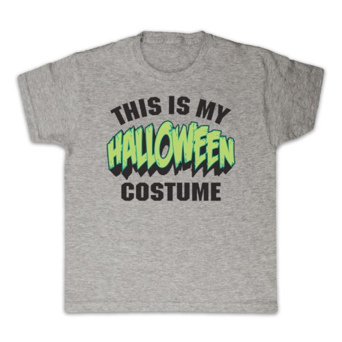 My Icon Little Boys' This Is My Costume Halloween T-Shirt