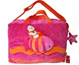 "Kids Travel Bag, Sea Collection-pink. 16"" x 11"" x 6"""