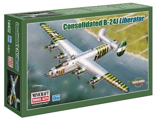 Minicraft Models B-24J Liberator 1/144 Scale