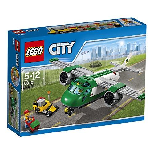 LEGO City 60101 - Aereo da Carico, 2 Personaggi, Età 5+