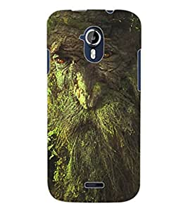 ColourCraft Creative Tree Design Back Case Cover for MICROMAX CANVAS MAGNUS A117