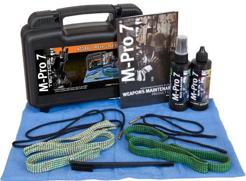 M-Pro 7 Tactical Assault Rifle Bore Snake Cleaning Kit