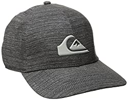 Quiksilver Men's AG47 M and with Bonded Amphibian Hat, Black, One Size