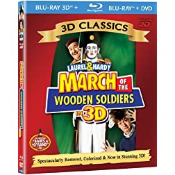 March of the Wooden Soldiers (3D/BD /DVD) [Blu-ray]