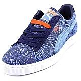 Puma Suede Mis-Match Suede Sneakers Little Boy Blue/Peacoat/Blue 13 D(M) US