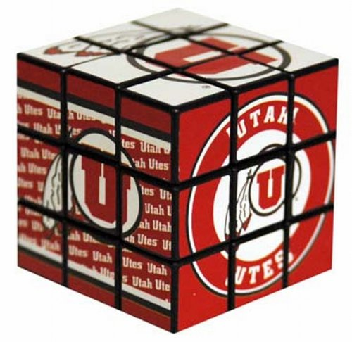 NCAA Utah Utes Toy Puzzle Cube - 1