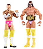 WWE バトルパック 2パック ランディー サベージ vs CMパンク