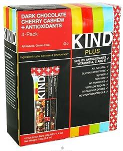 Kind Plus Dark Chocolate Cherry Cashew + Antioxidants - 4 pack