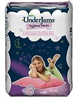 Pampers Underjams changes de nuit, Filles Taille L/XL Paquet 4x9, 36 changes