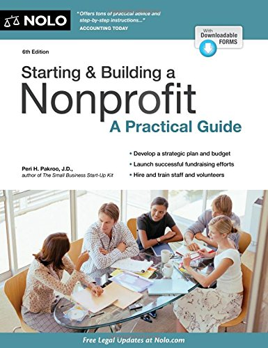 Starting & Building a Nonprofit: A Practical Guide (Building A Law Practice compare prices)