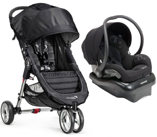 baby jogger city mini travel system with maxi cosi mico ap infant car seat black baby shop. Black Bedroom Furniture Sets. Home Design Ideas