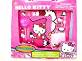 Sanrio Hello Kitty Stationery Set, Journal, Note Pad, 48 Stickers and Many More, for ages 6 +