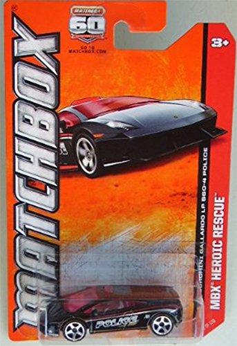 2013 Matchbox - MBX Heroic Rescue - Lamborghini Gallardo LP 560-4 Police - 1