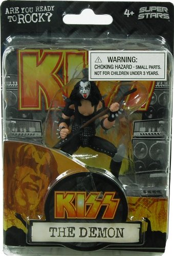 "Kiss 4.5"" Action Figure Gene Simmons The Demon"