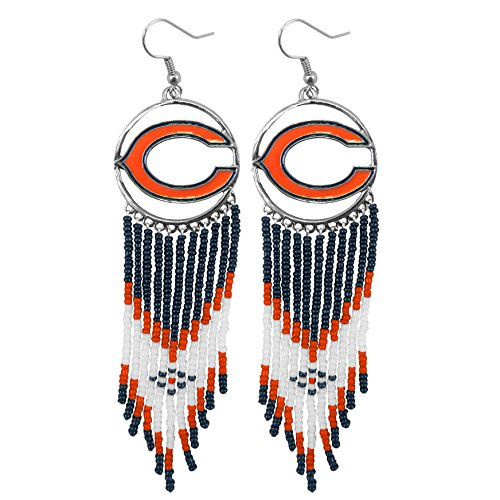NFL Chicago Bears Dreamcatcher Earring