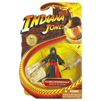 Picture of Hasbro Indiana Jones Action Figure: Cairo Swordsman (B0017ZVD3K) (Hasbro Action Figures)
