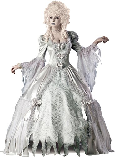 Incharacter Womens Gothic Victorian Ghost Corpse Countess Deluxe Fancy Costume