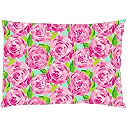LILLY PULITZER Pillowcase in Size 18 X 26 Inch and 2 Side Picture in Pillowcases Pillow Case Type #1123