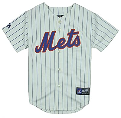 MLB New York Mets Big Boys Home Replica Jersey, White
