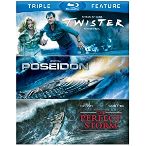 Twister & Poseidon & Perfect Storm [Blu-ray]