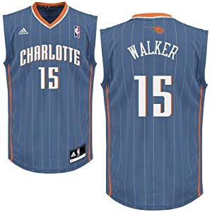 Buy Kemba Walker #15 Charlotte Bobcats NBA Adidas Basketball Youth Jersey by adidas