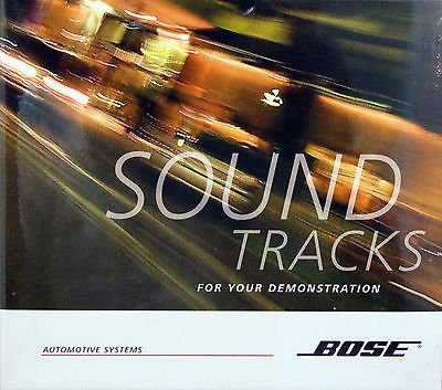 Sound Tracks For Your Demonstration - Music Cd By Bose Automotive Systems