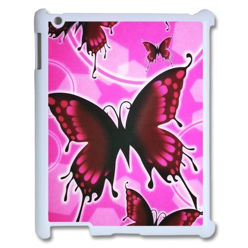 Generic Mobile Phone Cases Cover For Ipad 3 Case Ipad 2 4 Case Fashionable Art Designed With Beautiful Butterfly Personalized Shell Cell Phone Protect Skin