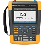 Fluke 190-102/AM 2 Channel LCD Color ScopeMeter Oscilloscope, 100 MHz Bandwidth, 3.5ns Rise time