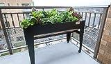 LGarden Balcony Elevated Garden System (Black)