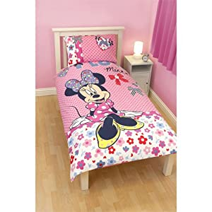 mickey mouse bettw sche minnie mouse shopaholic in 135. Black Bedroom Furniture Sets. Home Design Ideas