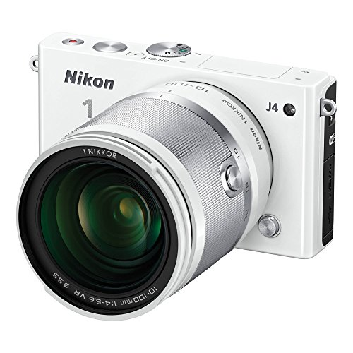 Nikon 1 J4 Digital Camera with 1 NIKKOR 10-100mm f/4.0-5.6 VR Lens (Whit