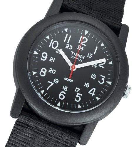 Timex Men's T18581 Classic Camper Watch Black