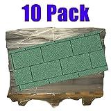 Produktbild von 10er Pack Dachschindeln Rechteck Grün 10x 3 m² = 30