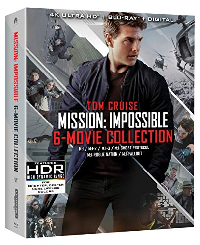 4K Blu-ray : Mission: Impossible 6 Movie Collection (With Blu-ray, With Bonus Disc, 4K Mastering, Boxed Set, Widescreen)
