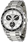 Victorinox Swiss Army Chrono Classic Silver Dial Mens Watch 241495 by Victorinox Swiss Army