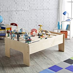 Little Colorado Kids Play Table - Natural by Little Colorado