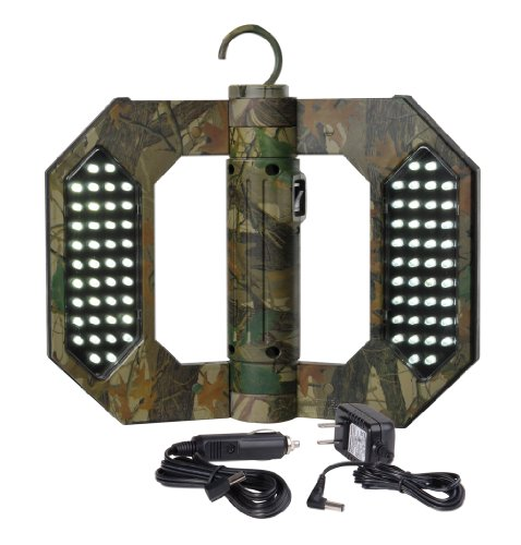 Might-D-Light LED130C, LED Rechargeable Folding Camo Worklight