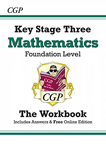 KS3 Maths Workbook (with Answers and Online Edition) - Foundation: Workbook and Answers Multi-pack - Levels 3-6 Pt. 1 & 2