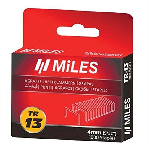Miles 303308 Punti TR da 13 mm, Confezione da 1000 Pezzi