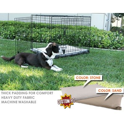 Animated Pet P06 Precision Great Crate 2-Door Dog Crate Pad Size: 48